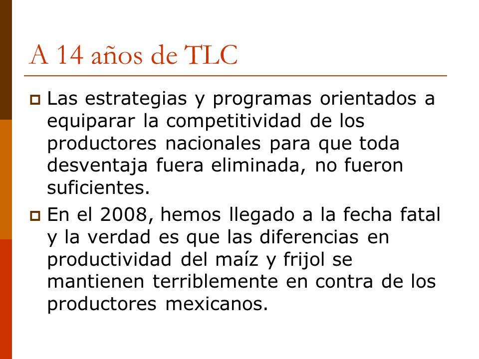A 14 años de TLC