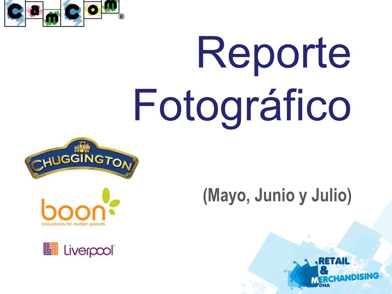Reporte Fotográfico (Mayo, Junio y Julio)