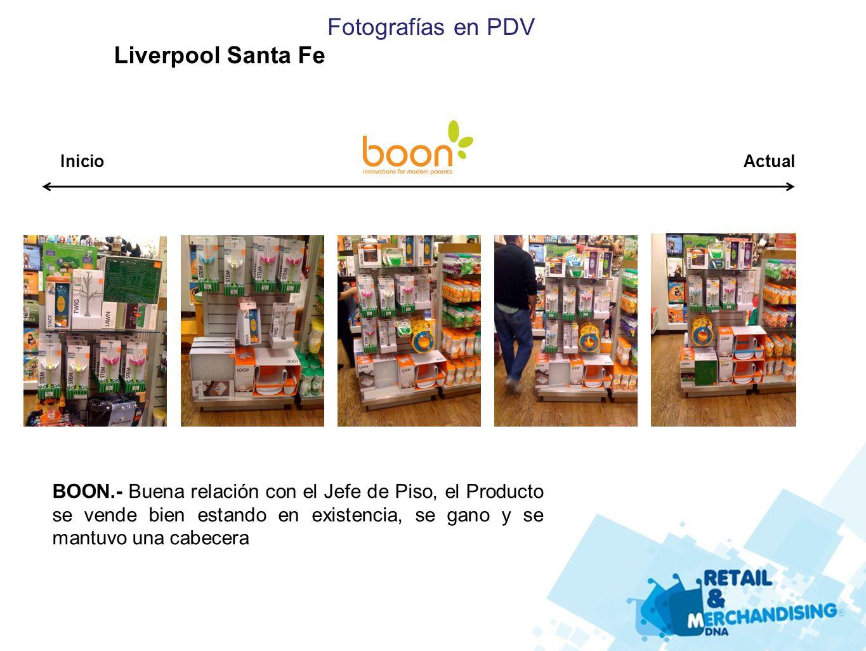 Fotografías en PDV Liverpool Santa Fe