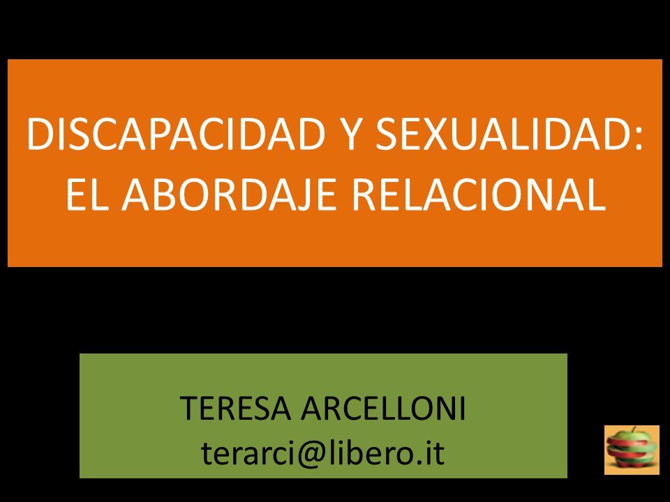 DISCAPACIDAD Y SEXUALIDAD: EL ABORDAJE RELACIONAL
