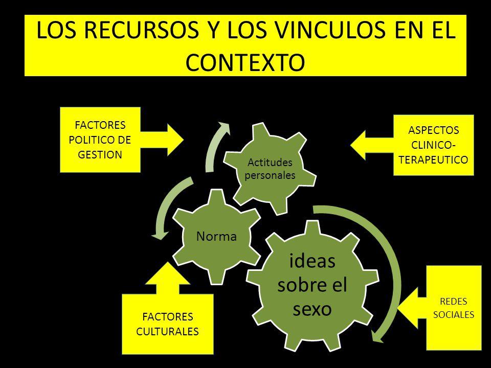 LOS RECURSOS Y LOS VINCULOS EN EL CONTEXTO