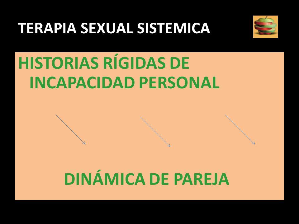 TERAPIA SEXUAL SISTEMICA
