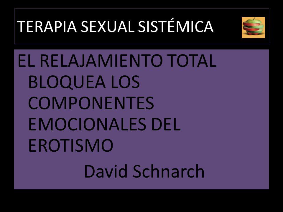 TERAPIA SEXUAL SISTÉMICA