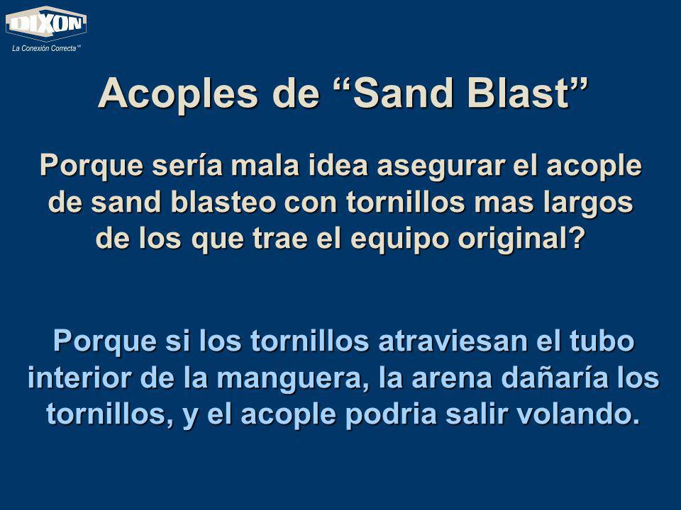 Acoples de Sand Blast
