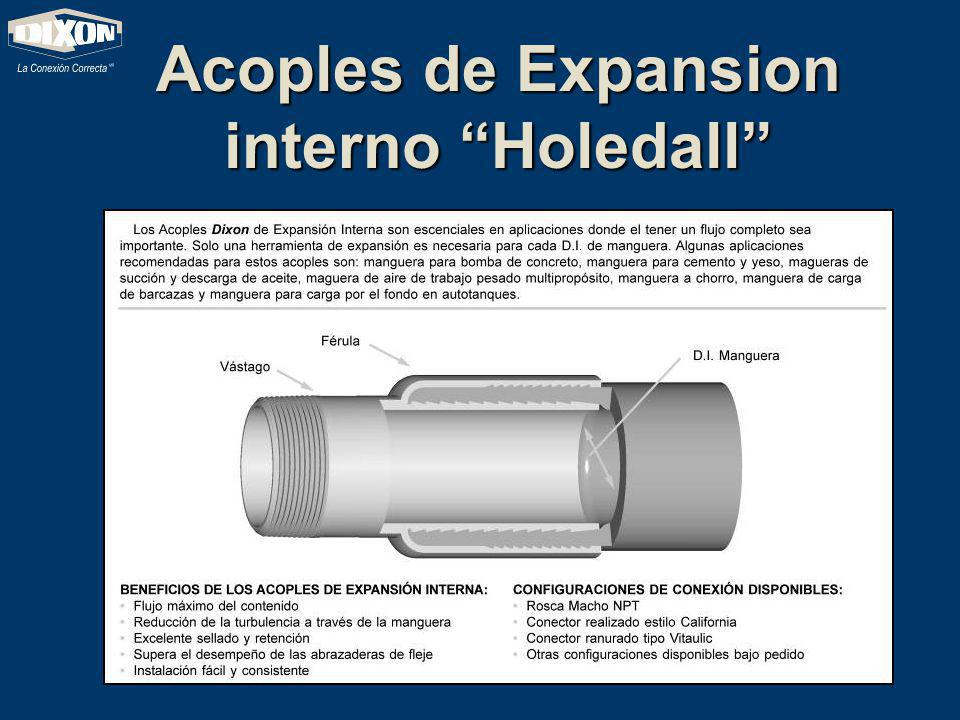 Acoples de Expansion interno Holedall
