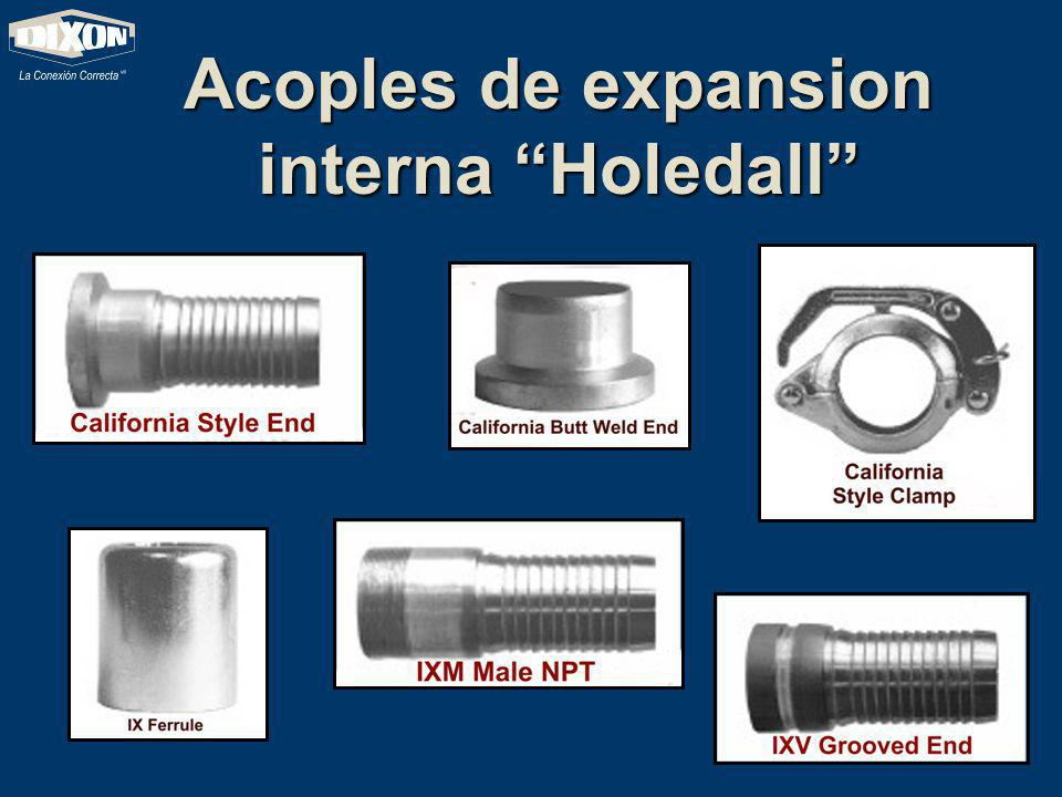 Acoples de expansion interna Holedall