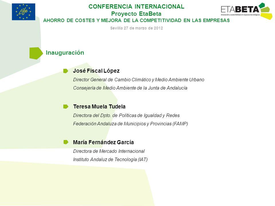 Inauguración José Fiscal López Teresa Muela Tudela