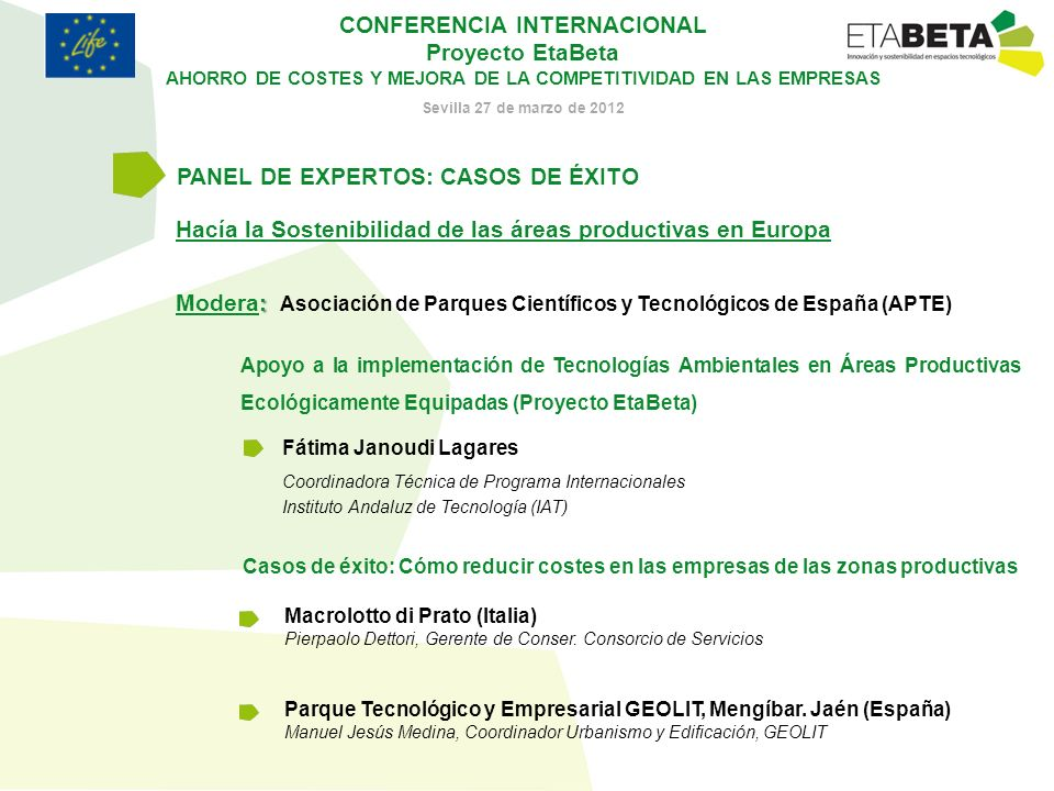 PANEL DE EXPERTOS: CASOS DE ÉXITO