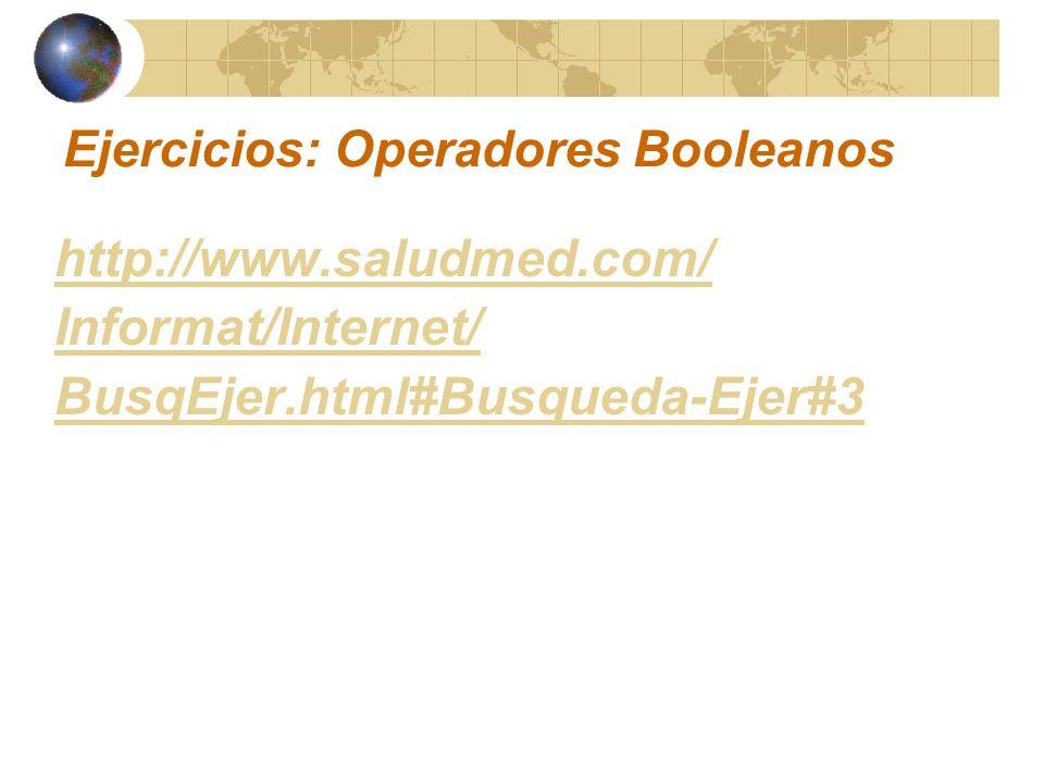 Ejercicios: Operadores Booleanos