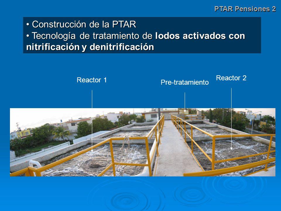 Construcción de la PTAR