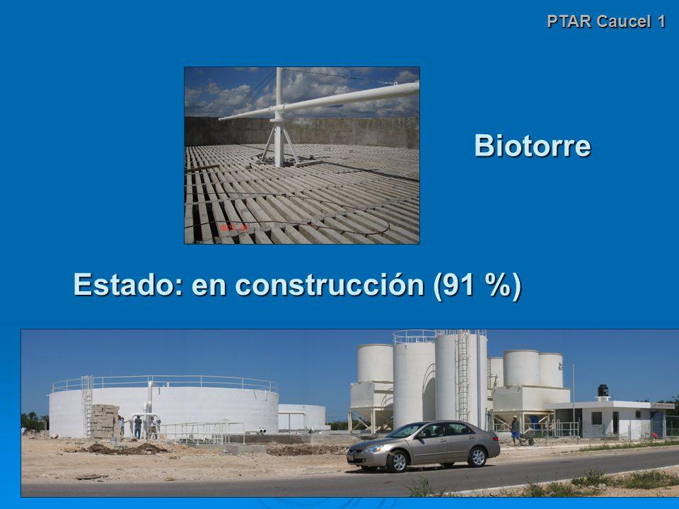 Estado: en construcción (91 %)