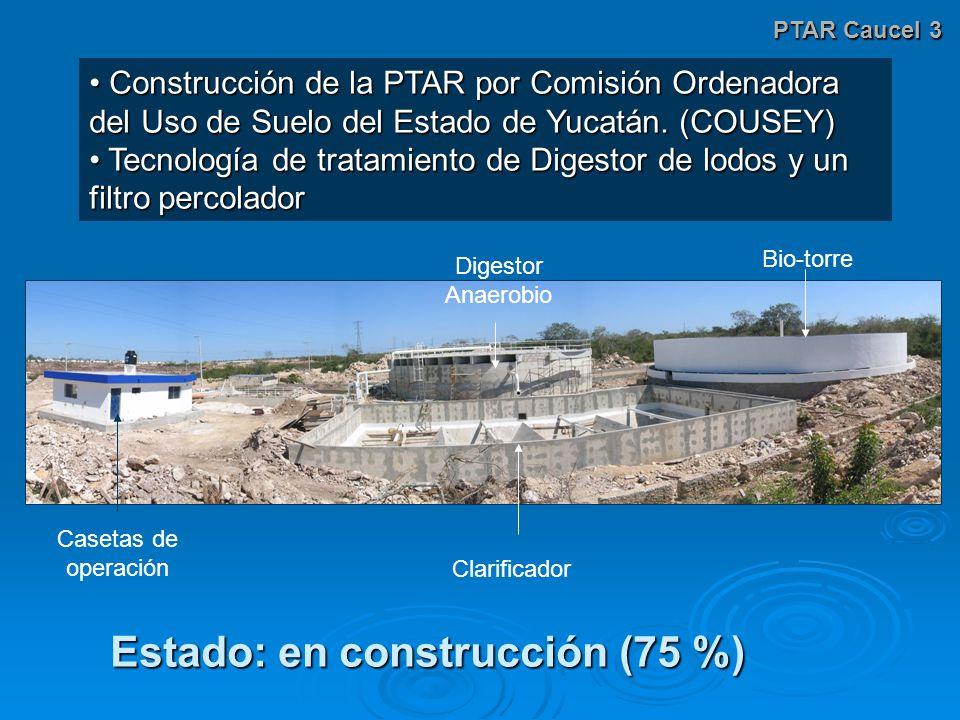 Estado: en construcción (75 %)