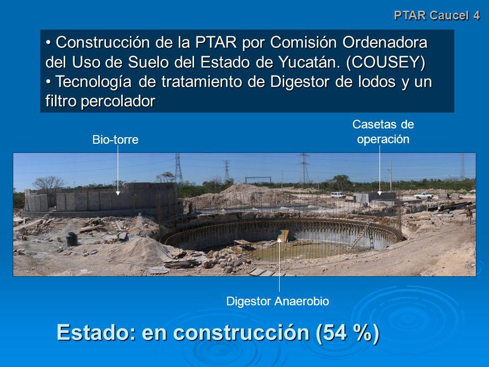 Estado: en construcción (54 %)