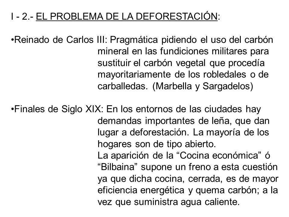 I - 2.- EL PROBLEMA DE LA DEFORESTACIÓN: