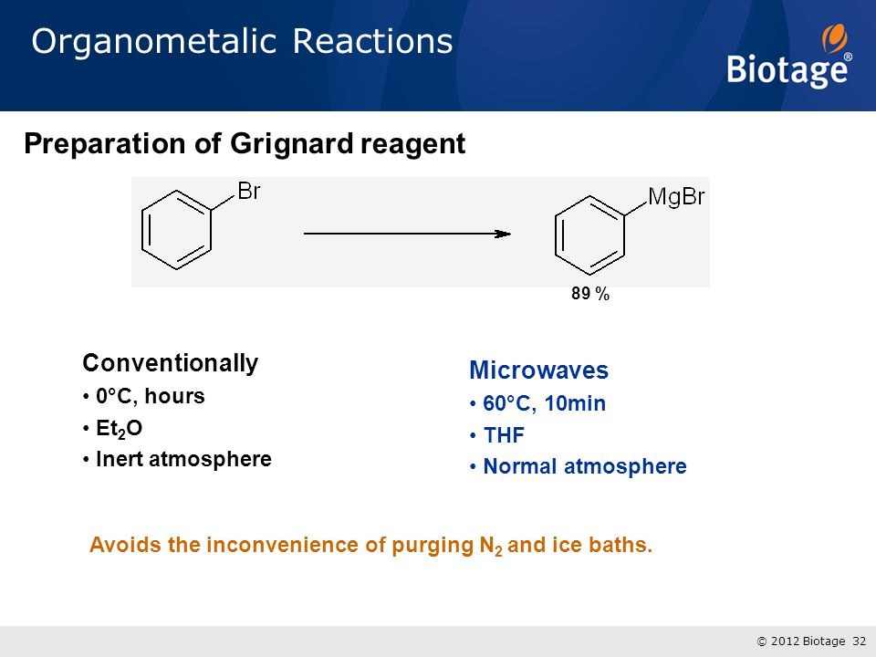 Organometalic Reactions