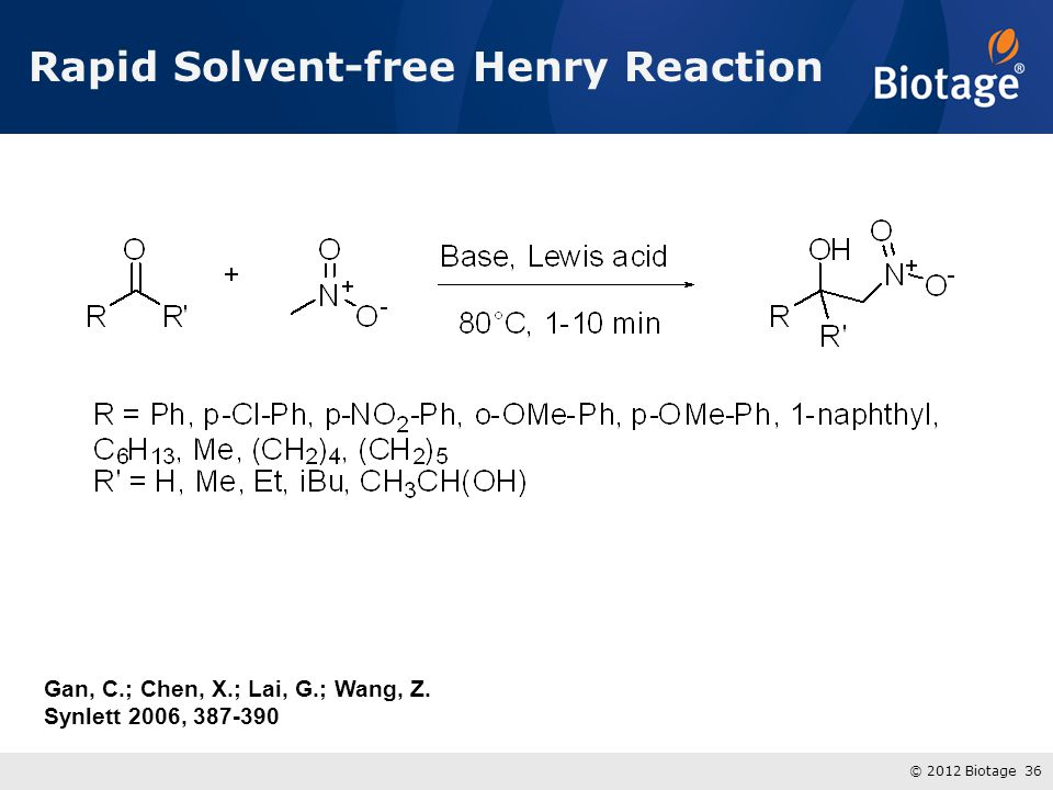 Rapid Solvent-free Henry Reaction