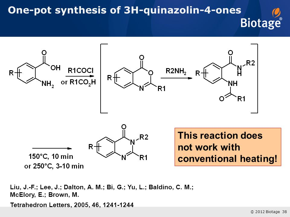 One-pot synthesis of 3H-quinazolin-4-ones