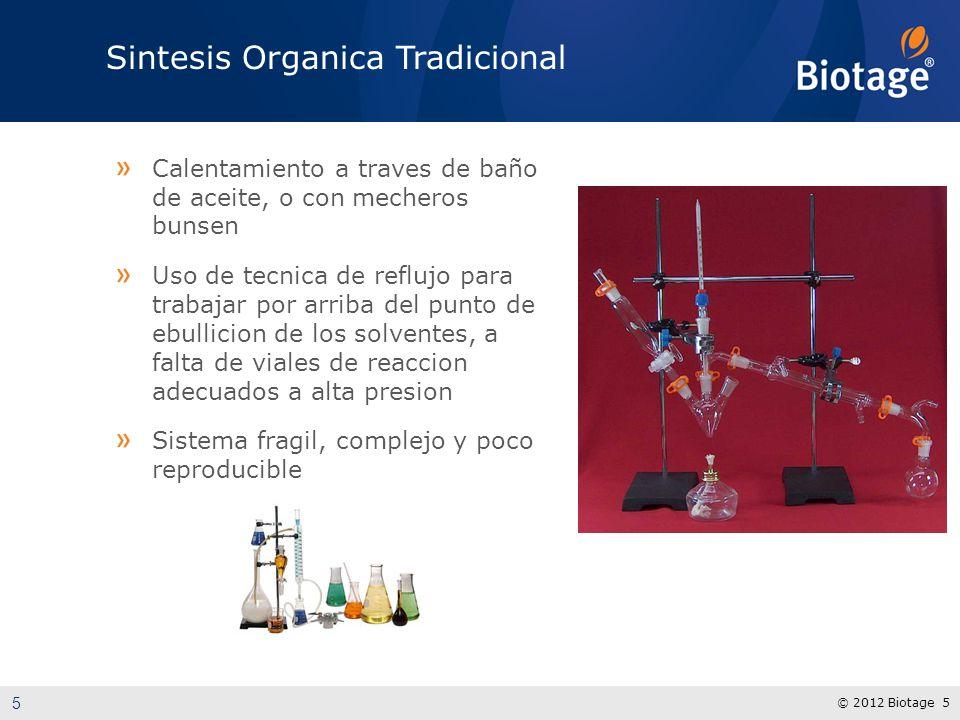 Sintesis Organica Tradicional