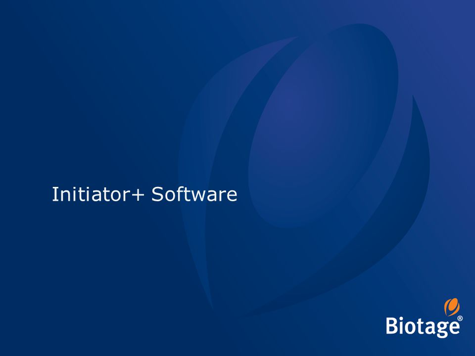 Initiator+ Software