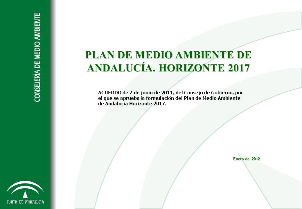 PLAN DE MEDIO AMBIENTE DE ANDALUCÍA. HORIZONTE 2017