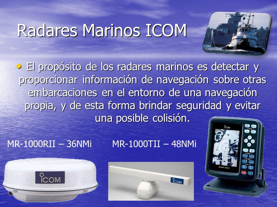 Radares Marinos ICOM