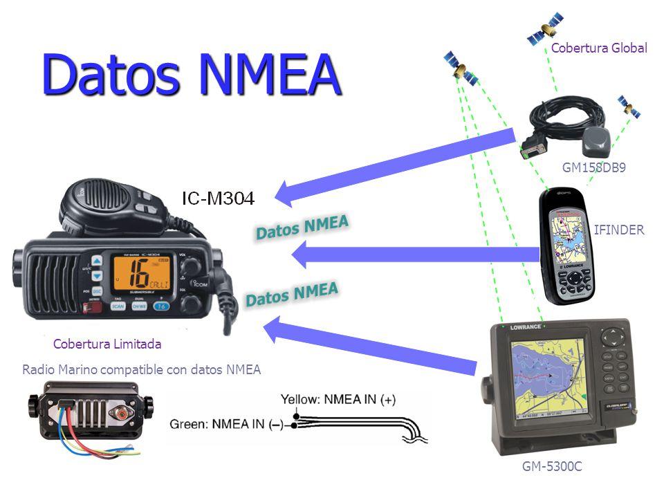 Características Generales del IC-M304: