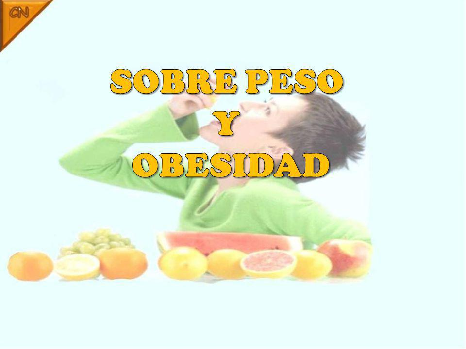 SOBRE PESO Y OBESIDAD