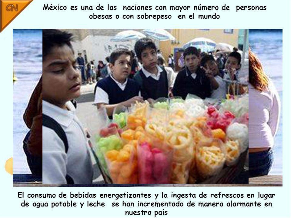 México es una de las naciones con mayor número de personas obesas o con sobrepeso en el mundo