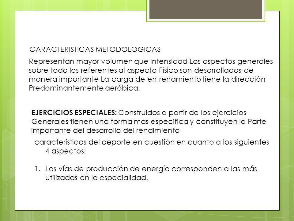 CARACTERISTICAS METODOLOGICAS