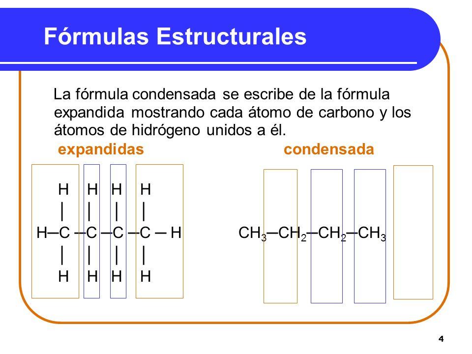 Fórmulas Estructurales