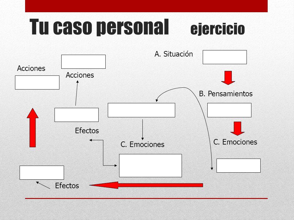 Tu caso personal ejercicio