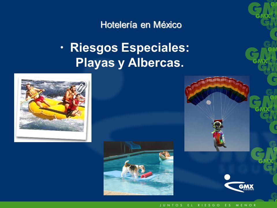 Riesgos Especiales: Playas y Albercas.