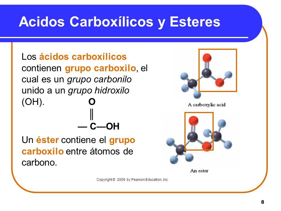 Acidos Carboxílicos y Esteres