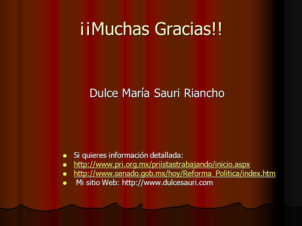 Dulce María Sauri Riancho