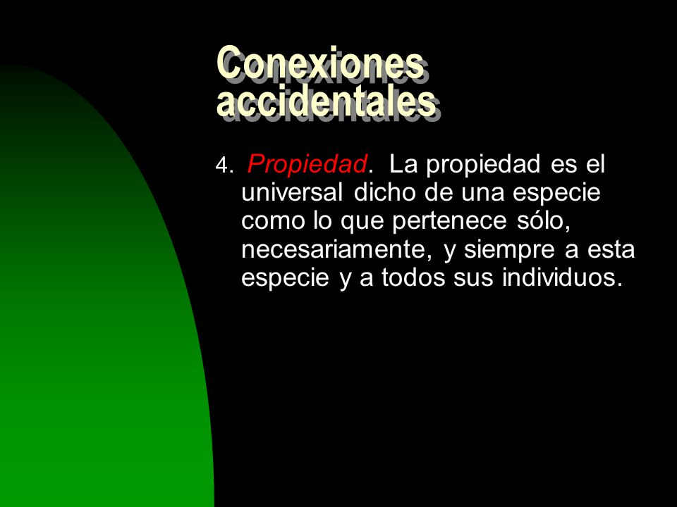 Conexiones accidentales