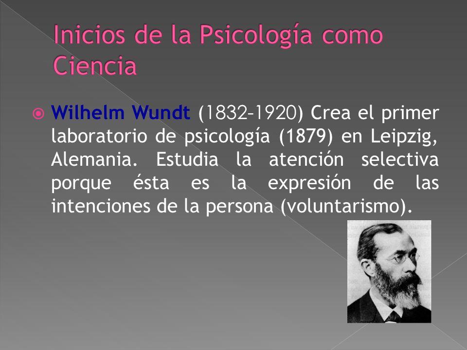 Inicios de la Psicología como Ciencia