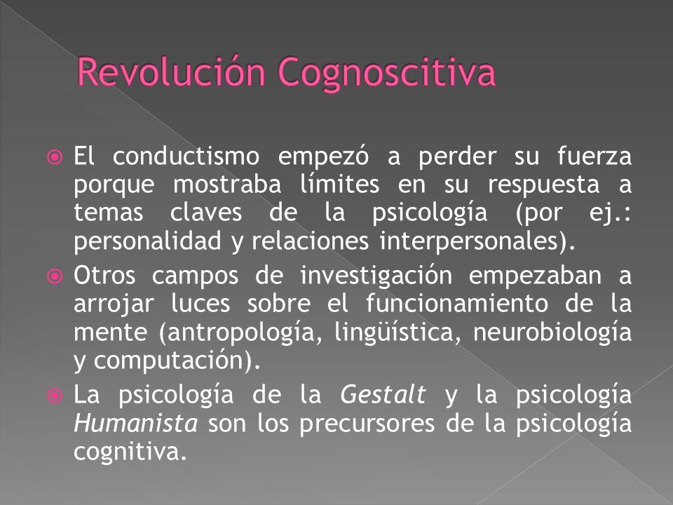 Revolución Cognoscitiva