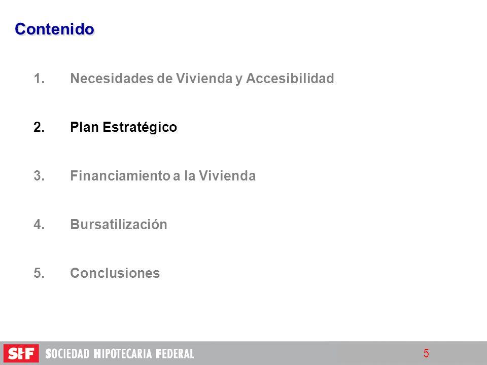Contenido Necesidades de Vivienda y Accesibilidad Plan Estratégico
