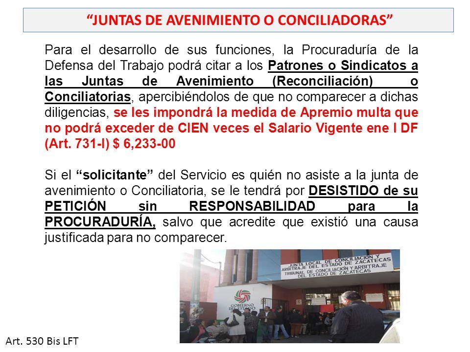 JUNTAS DE AVENIMIENTO O CONCILIADORAS