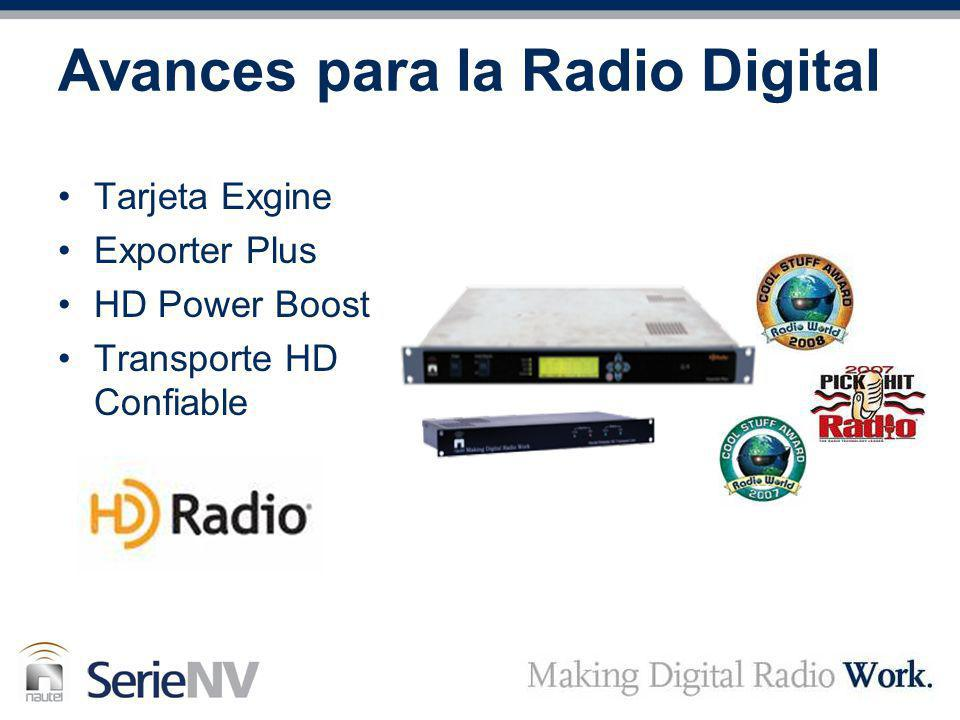 Avances para la Radio Digital