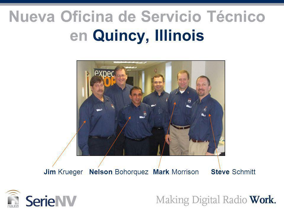 Nueva Oficina de Servicio Técnico en Quincy, Illinois