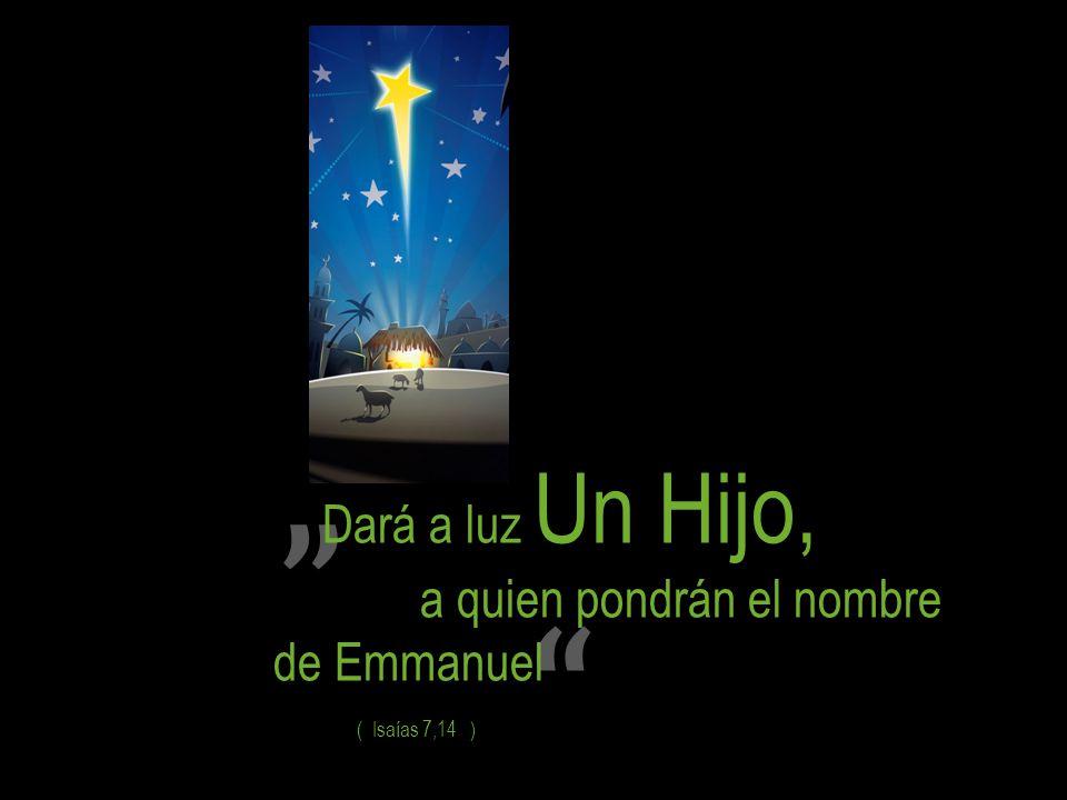Dará a luz Un Hijo, de Emmanuel a quien pondrán el nombre