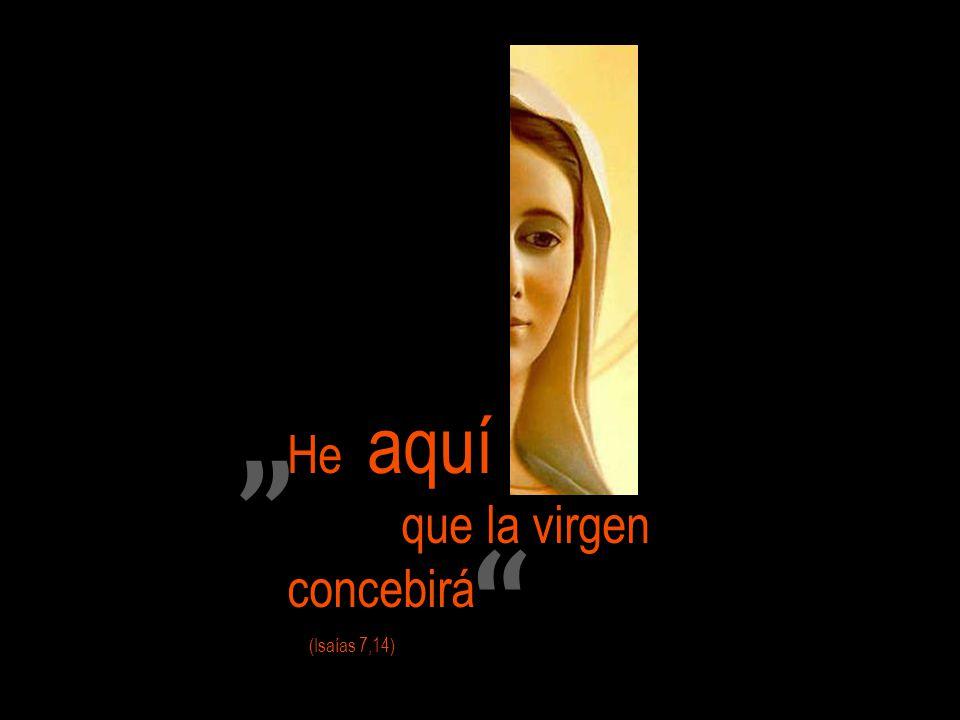 He aquí que la virgen concebirá (Isaías 7,14)