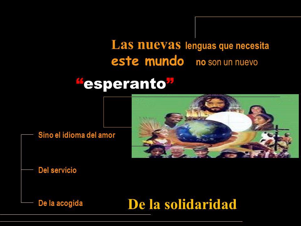 esperanto De la solidaridad