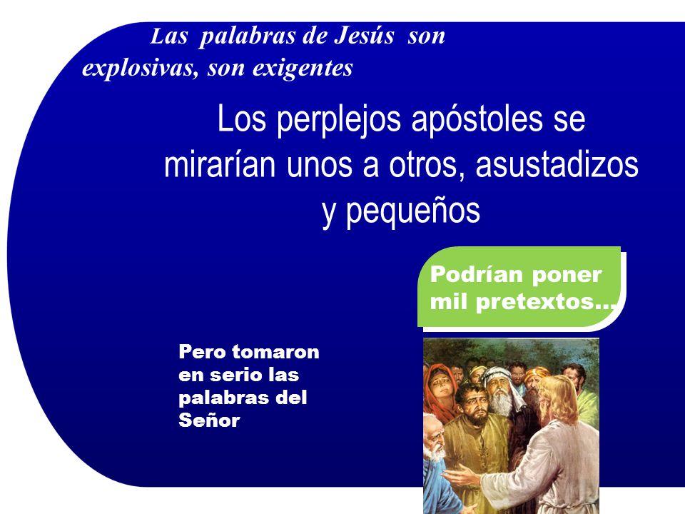 Las palabras de Jesús son