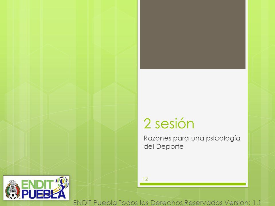 2 sesión Razones para una psicología del Deporte