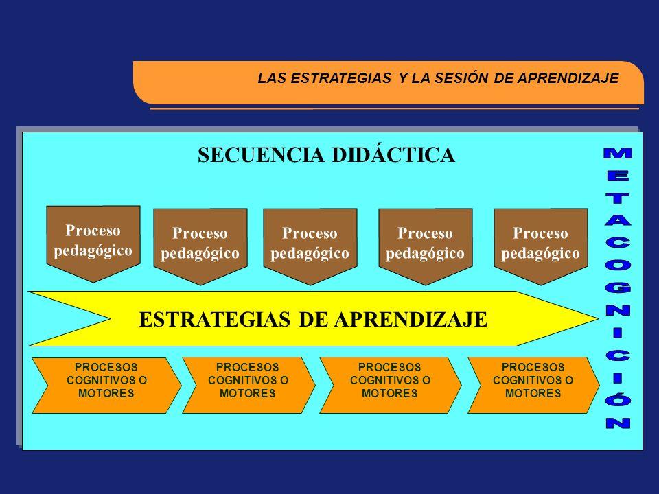 METACOGNICIÓN SECUENCIA DIDÁCTICA ESTRATEGIAS DE APRENDIZAJE