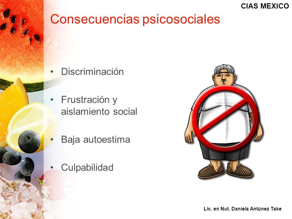 Consecuencias psicosociales