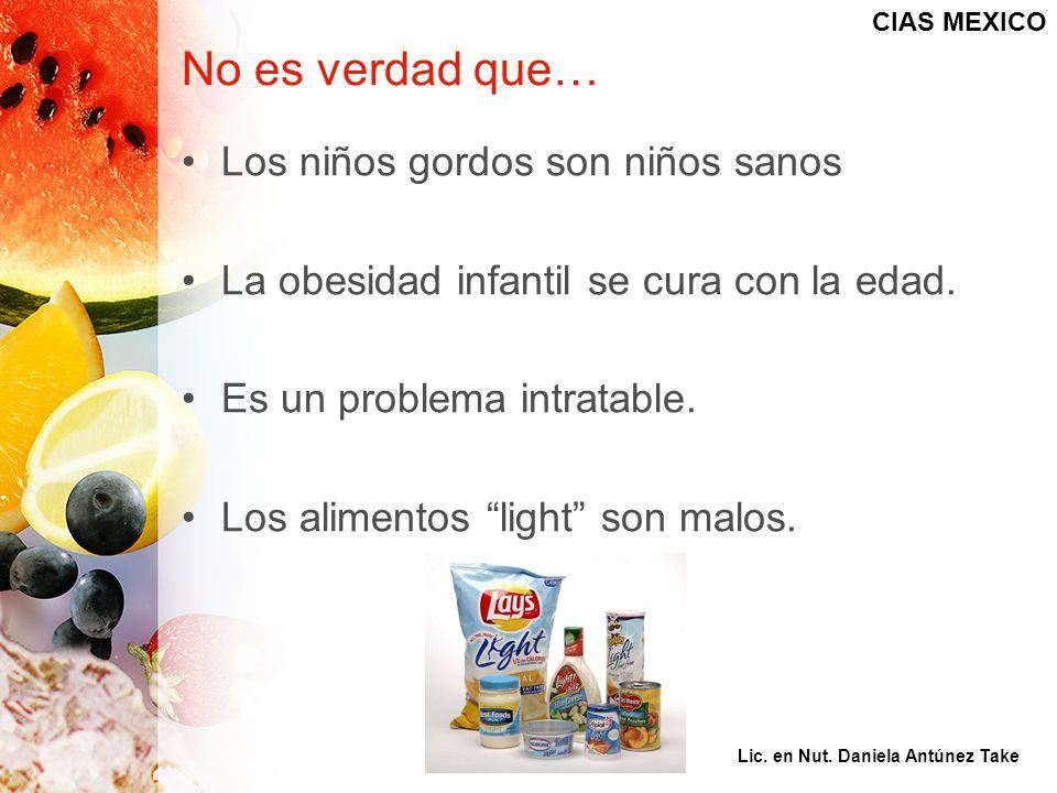 No es verdad que… Los niños gordos son niños sanos