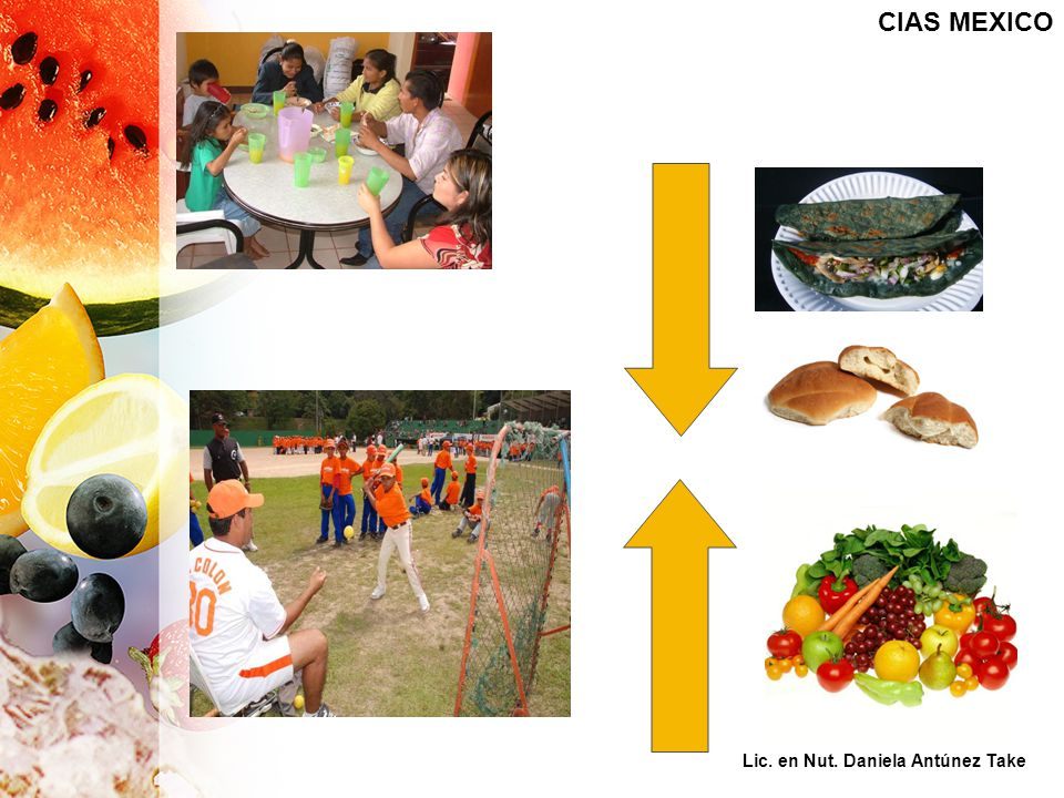 CIAS MEXICO Mail de cómo comen las familias